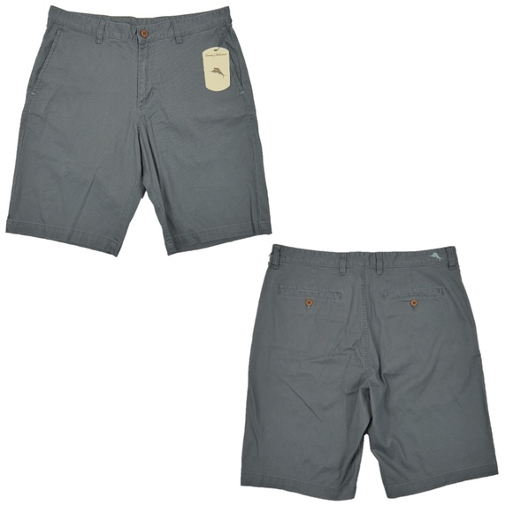 Tommy Bahama Other - Tommy Bahama Flat Front Stretch Chino Shorts